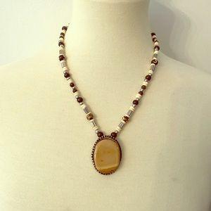 🏜boho beaded necklace 🏜